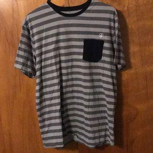 Men's Volcom Skater pocket T shirt